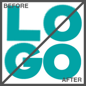Example of our logo redrawing service